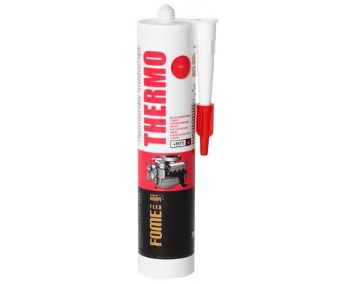 Герметик силиконовый FOME FLEX THERMO высокотемпературный 300 мл
