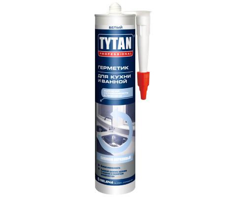 Герметик силиконакриловый TYTAN Professional для кухни и ванной 310 мл