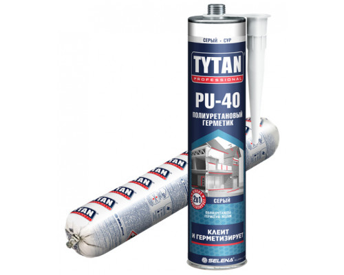 Герметик полиуретановый TYTAN Professional PU 40 310 мл и 600 мл