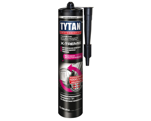 Герметик TYTAN Professional X-TREME для экстренного ремонта кровли 310 мл