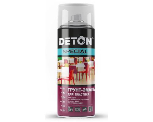 Грунт-эмаль DETON SPECIAL для пластика