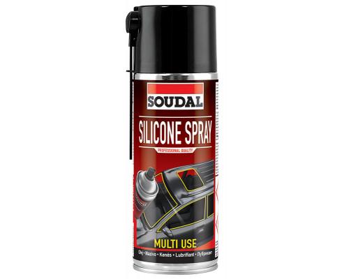 Смазка силиконовая SOUDAL Silicone Spray 400 мл