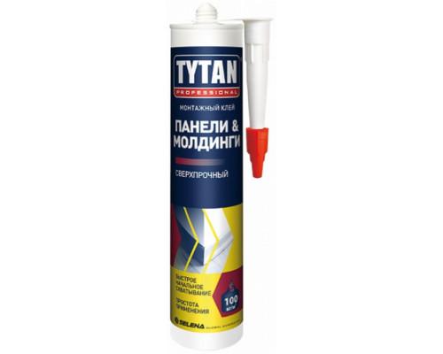 Клей монтажный TYTAN Professional Панели & Молдинги, бежевый 310 мл