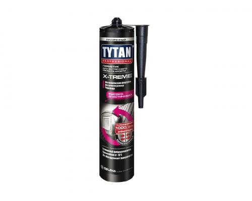 Герметик TYTAN Professional X-TREME для экстренного ремонта кровли прозрачный 310 мл